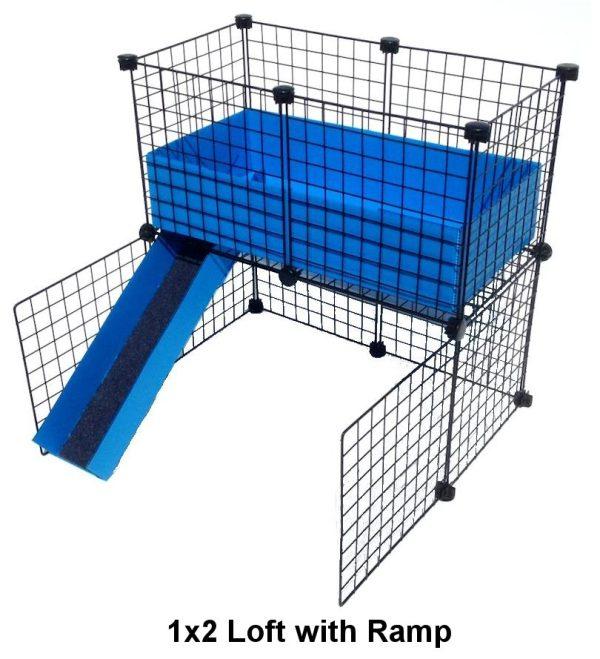 1x2 Grid C&C Loft Cage