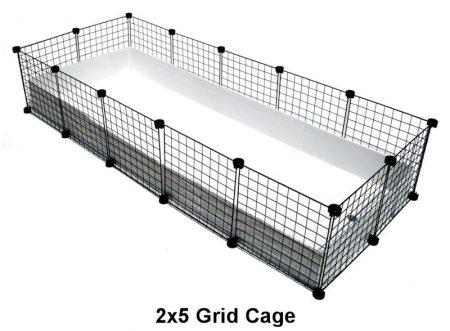 2x5 Grid C&C Cage