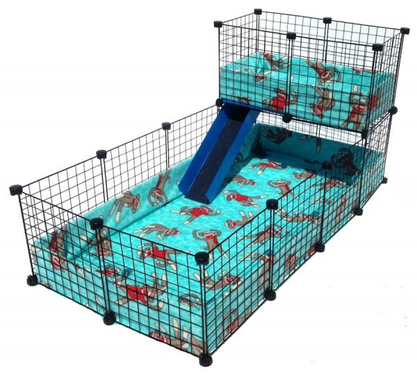 C&C Cage with Piggy BedSpreads