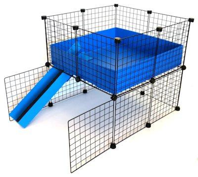 2x2 C&C Loft Cage