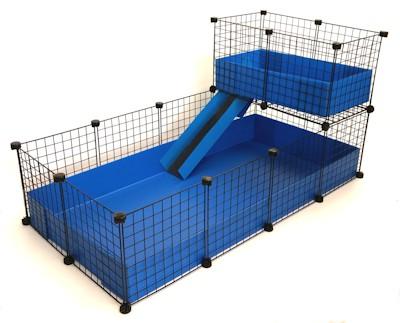 2x4 C&C Cage with 1x2 Loft