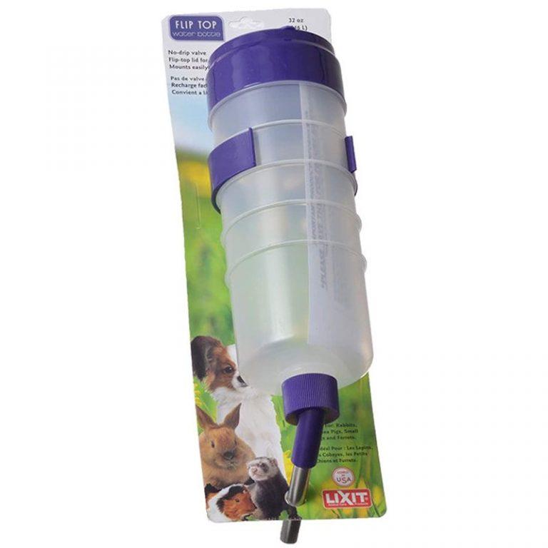 Lixit Flip Top Water Tank With Valve 32 oz