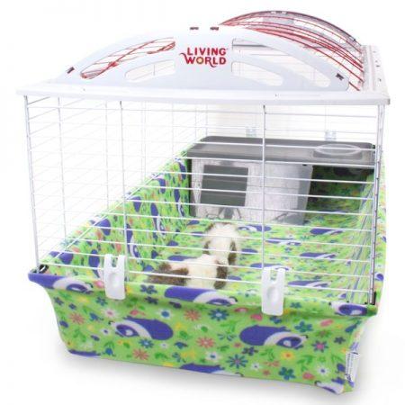 Hagen Living World XL with Meadow Pig Piggy BedSpread