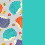 Hedgies-Turquoise