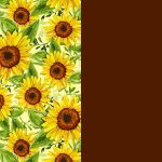 Sunflowers and Brown